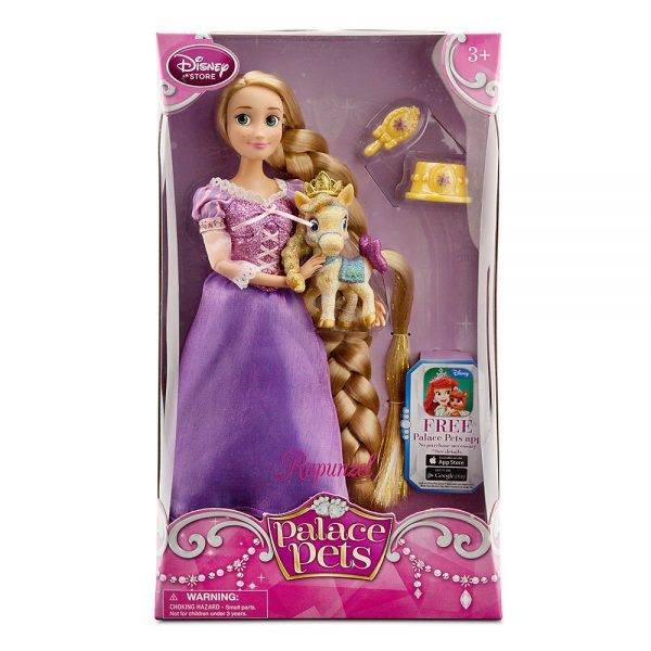 "12"" Rapunzel and Blondie Palace Pet Doll and Figure Set"