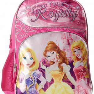 "16"" Disney Princess Large Backpack ~ Rapunzel, Belle & Sleeping Beauty"