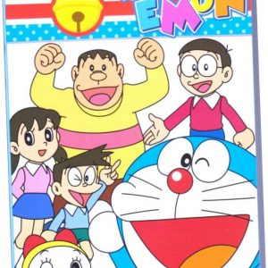 2014 ~ 2015 Plastic Cover Doraemon Academic Diary Monthly Weekly Planning Yearly Schedule Planner Calendar Book