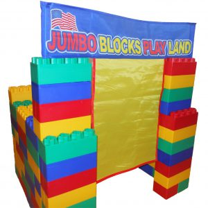 99pc Playhouse Jumbo Blocks- Playland  (Made in the USA)