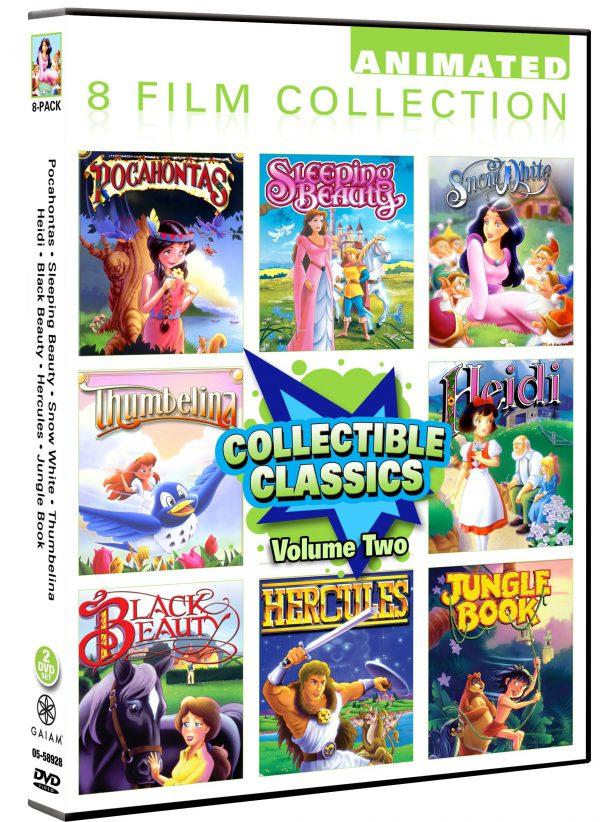 Animated Classics Collection Volume 2- 8 Pack: Pocahontas/ Sleeping Beauty/ Snow White/ Thumbelina/ Heidi/ Black Beauty/ Hercules/ Jungle Book