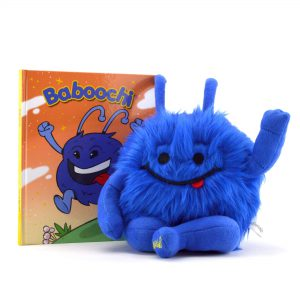 Baboochi Stuffed Animal Toy, Plush Doll, Fun Interactive Educational Learning for Children Age 2, 3, 4, 5, 6, 7, 8. Hard Cover Children's Story Book Incl. For Kids Girls Boys. For Playing Inside, Out.