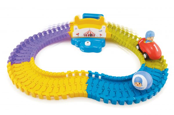 Bandai Pocoyo and Friends Swiggle Traks Feature Track with Bridge - Pocoyo