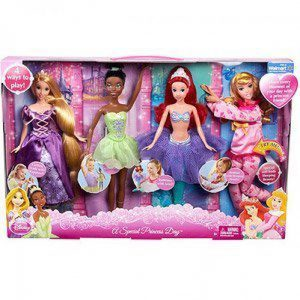 Barbie A Special Princess Day Disney Doll Set by Mattel