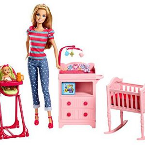 Barbie Careers Babysitter Doll and Playset (Discontinued by manufacturer)