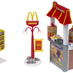 Barbie McDonald's Fun Time Drive-Through Playset