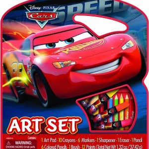Bendon Disney Pixar Cars Character Art Tote Activity Set