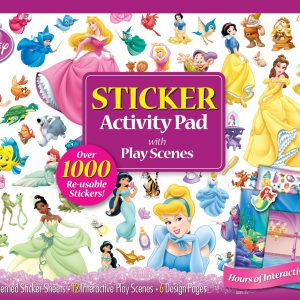 Bendon Disney Princess Ultimate Sticker Activity Pad