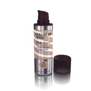 COVERGIRL and Olay Tonerehab 2-In-1 Foundation, Soft Honey 155, 1 Fluid Ounce
