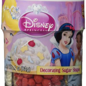 Cake Mate Disney Princess Decors - Decorating Sugar Shapes