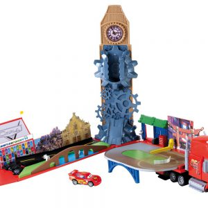 Cars Mega Mack Race world Playset