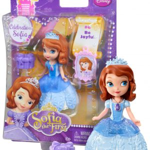 "Celebration Sofia ~3"" - Disney Sofia the First Mini-Doll Series: #6 Be Joyful"