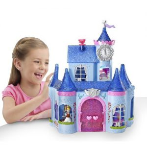 Cinderella Magic Clip Castle Doll House Children, Kids, Game
