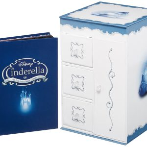 Cinderella Trilogy with Collectible Jewelry Boxed Packaging
