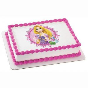 DISNEY PRINCESS FAIRYTALE PRINCESS RAPUNZEL Edible Image FROSTING SHEET Cake Topper