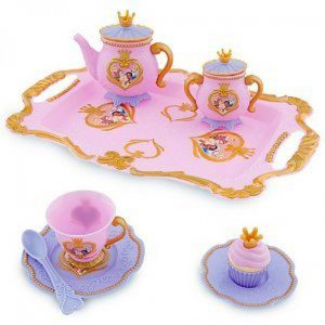 DISNEY PRINCESS PINK DINING PLAY SET