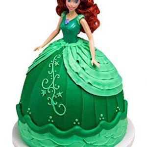 "DecoPac Disney Princess Doll Signature Cake DecoSet Cake Topper, Ariel, 11"""