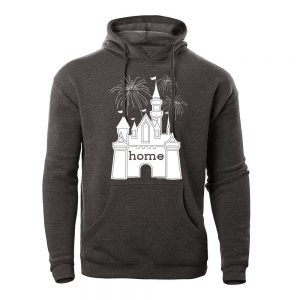 DisGear Castle is My Home Hoodie Fireworks for Women - Ladies Fleece