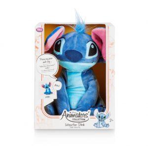 Disney Animators' Collection Interactive Stitch Plush - 11''