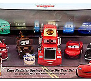 Disney Cars 1:43 Diecast Car 11-Pack Radiator Springs Deluxe Set
