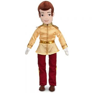 Disney Cinderella Plush Prince Charming Doll -- 21'' H
