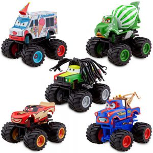 Disney Deluxe Monster Truck Mater Figure Set