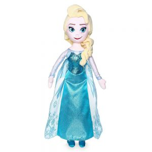 Disney Elsa Plush Doll, Frozen, Medium, 20""
