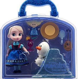 Disney Frozen Animators Collection Elsa Mini Doll Playset