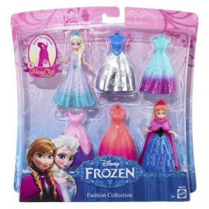 Disney Frozen Magiclip Fashion Collection with Elsa and Anna