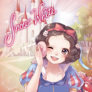 Disney Japan Official Licensed Limited Jigsaw Puzzle Sweet Bag Collection Snow White SBC Stained Art 266pcs DSG-2668-785 Tenyo