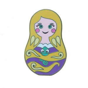 Disney Nesting Dolls Mini Pin Pack - Rapunzel Only