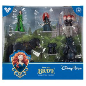 Disney Parks Exclusive Brave Figurine PVC Playset Cake Topper Set