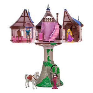 Disney Parks Rapunzel Tangled Tree House Playset Dollhouse
