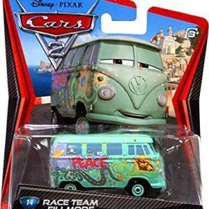 Disney / Pixar CARS 2 Movie 155 Die Cast Car #14 Race Team Fillmore