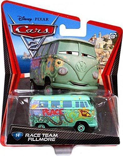 Disney / Pixar CARS 2 Movie 155 Die Cast Car #14 Race Team Fillmore