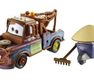 Disney / Pixar CARS 2 Movie 155 Die Cast Car 2Pack Race Team Mater Zen Master Pitty