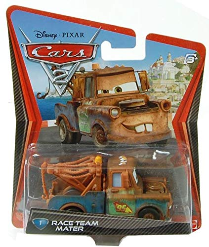 Disney / Pixar CARS 2 Movie 155 Die Cast Checkout Lane Package Race Team Mater (1 Car Included)