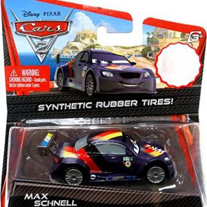 Disney / Pixar CARS 2 Movie Exclusive 155 Die Cast Car with Synthetic Rubber Tires Max Schnell