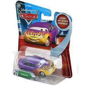 Disney / Pixar CARS Movie 155 Die Cast Car with Lenticular Eyes Series 2 Marilyn