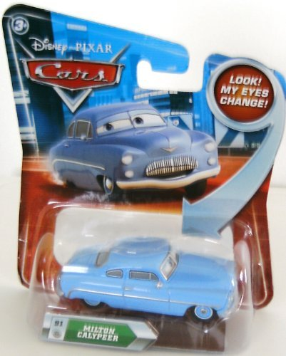 Disney / Pixar CARS Movie 155 Die Cast Car with Lenticular Eyes Series 2 Milton Calypeer
