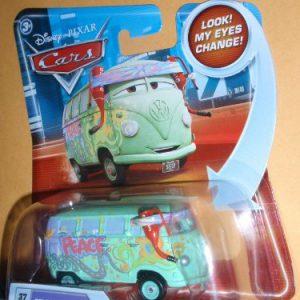 Disney / Pixar CARS Movie 155 Die Cast Car with Lenticular Eyes Series 2 Pit Crew Member Fillmore