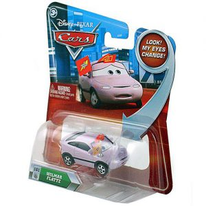 Disney / Pixar CARS Movie 155 Die Cast Car with Lenticular Eyes Series Wilmar Flattz