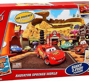 Disney / Pixar CARS Movie Exclusive Playset Radiator Springs World