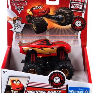 Disney / Pixar CARS TOON Exclusive Monster Truck Frightening McMean [Power Punch Action!]