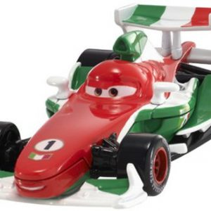 Disney Pixar Cars 2 Francesco Bernoulli #4 (Red, White & Green)