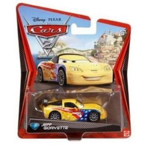 Disney / Pixar Cars 2 Movie 155 Die Cast Car #7 Jeff Gorvette
