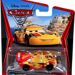 Disney Pixar Cars 2 Movie Series Mattel 1:55 Scale Die Cast Car #23 Miguel Camino
