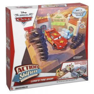 Disney Pixar Cars Action Shifters Luigis Playset