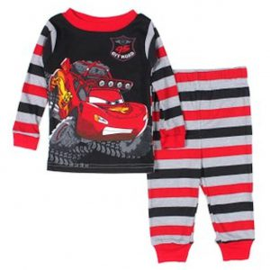 Disney Pixar Cars Baby Boys' 95 Off Road Pajamas (24M)