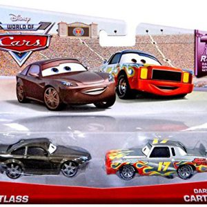 Disney Pixar Cars Bob Cutlass and Darrell Cartrip Diecast Vehicle, 2-Pack